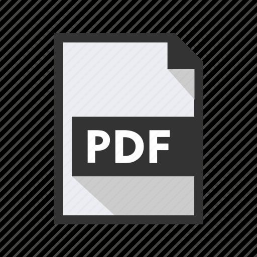 document, export, file, import, pdf icon