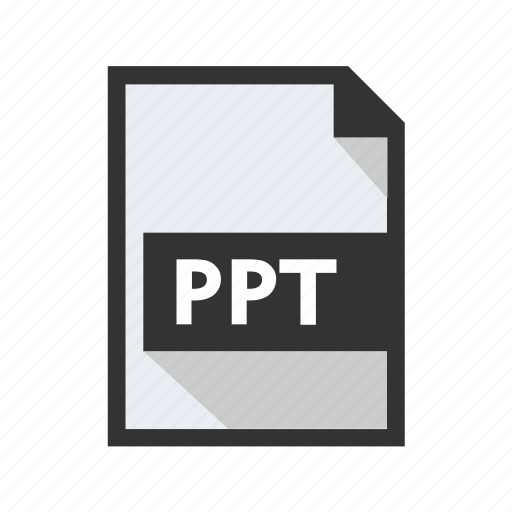 document, file, ppt, presentation icon