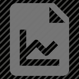 file, graph, new icon