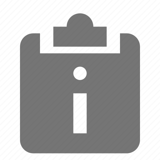 clipboard, information, tasks icon