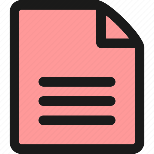 document, file, folder, page, paper, text, ui icon
