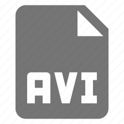 avi, extension, file, movie, video icon