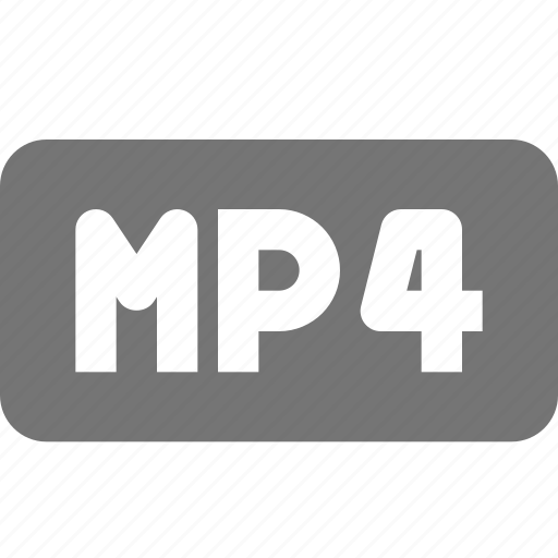 extension, movie, mp4, video icon