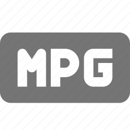 extension, movie, mpg, video icon