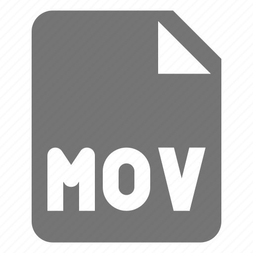 extension, file, mov, movie, video icon