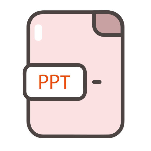 document, file, folder, format, ppt, ppt icon icon