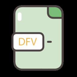 dfv, dfv icon, documents, files, folders icon