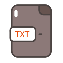 documents, file, folder, txt, txt icon icon