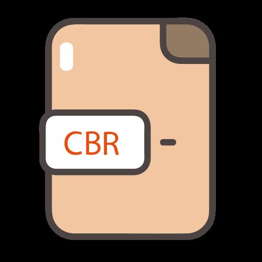 cbr, cbr icon, documents, file, folder icon