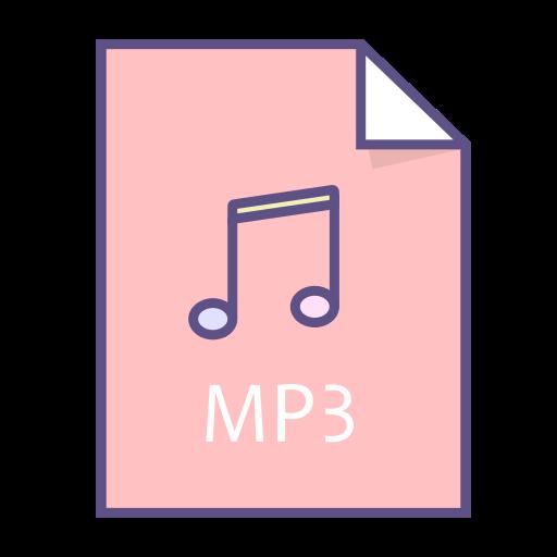 audio, doc, file, mp3, music icon