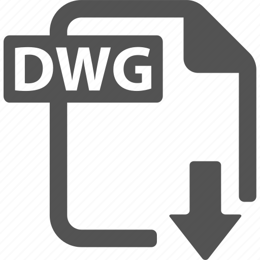 document, download, dwg, extension, file, format icon