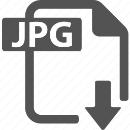 document, download, extension, file, format, jpg icon