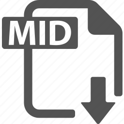 document, download, extension, file, format, mid icon