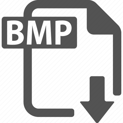 bmp, document, download, extension, file, format icon