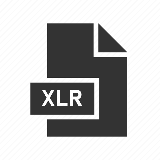 Xlr, document, works spreadsheet, format, file icon - Download on Iconfinder