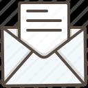 email, envelope, inbox, letter, mail, message, send