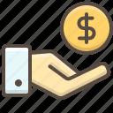 bank, business, cash, finance, hand, money, salary