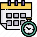calendar, date, delivery, express, logistics, shipping, time icon