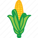 baby corn, sweet corn, sweet corn salad, sweet corn soup, vegetables icon icon