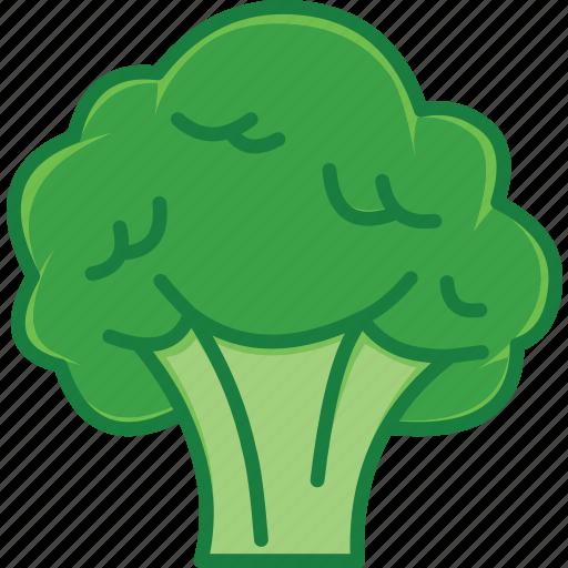 broccoli, broccoli salad, broccoli soup, vegetables icon icon