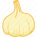 garlic, garlic paste, vegetables icon icon