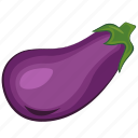 aubergine, eggplant, vegetables icon icon