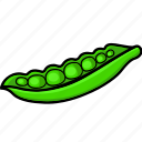green beans, green beans coffee, vegetables icon icon
