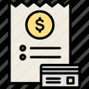 bill, invoice, tax