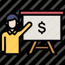 budget, money, presentation
