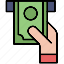 bankomat, cash, money, withdraw