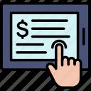 details, invoice, online, payment, product, transaction