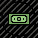 flow, money, transaction, transfer