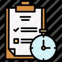 milestones, records, timer icon