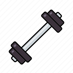 barbell, bodybuilding, dumbbell, equipment, exercise, sports, weightlifting icon