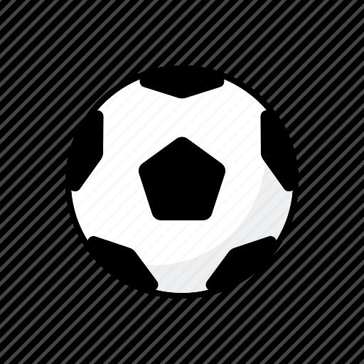 ball, equipment, football, soccer, sports, team sports icon