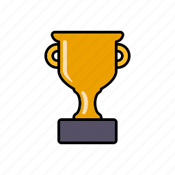 award, cup, equipment, gold, sports, winner icon