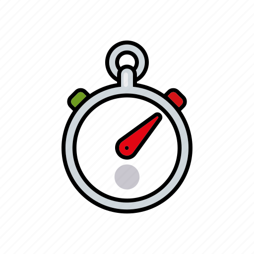 equipment, sports, stoowatch, time, timer icon