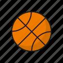 ball, basketball, equipment, sports, team sports