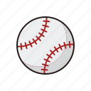 ball, baseball, equipment, sports, team sports icon