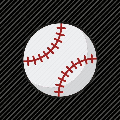 ball, baseball, equipment, sports, team sports icon