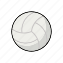 ball, equipment, handball, sports, team sports, volleyball icon