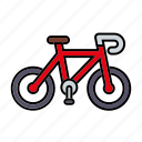 bicycle, cycling, equipment, mountain bike, sports icon