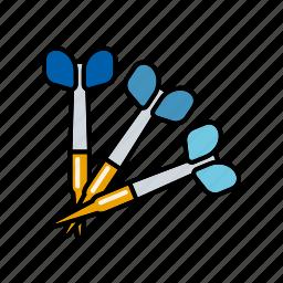 darts, equipment, pub sports, sports icon