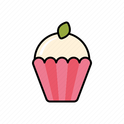 cake, cupcake, dessert, food, pastry, sweets icon