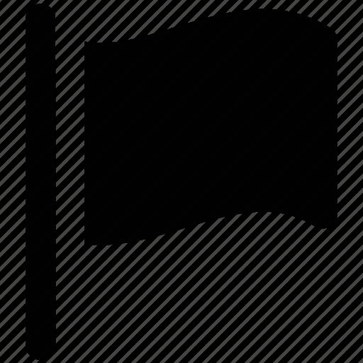 blank, destination flag, direction flag, ensign, flag, flag sign icon