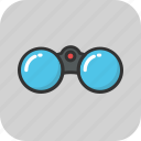 binocular, search, surveillance, vision, zoom icon