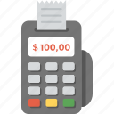 electronic payment, electronic register, financing machine, nfc, payment method icon
