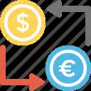 foreign exchange, dollar yen exchange, forex, currency converter, money exchange icon