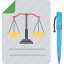 accounting and finance, balance sheet, legal document, finance balance, financial report icon