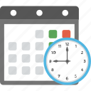 scheduling, scheming, planning, time management, time to plan icon